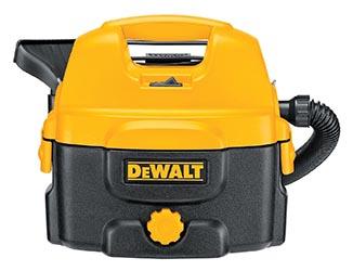 DeWalt DC500 2 Gallon Cordless / Corded Wet Dry Vacuum