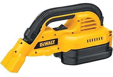 DeWalt DC515B 18-Volt Cordless 1/2 Gallon Wet/Dry Portable Vacuum