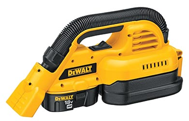 DeWalt DC515K 18-Volt Cordless 1/2 Gallon Wet/Dry Portable Vacuum